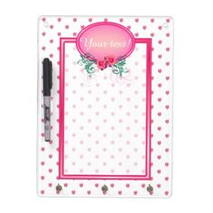 http://www.zazzle.com/pink_frame_monogram_rose_dry_erase_white_board-256630434548239633?rf=238523064604734277 Pink Frame Monogram Rose Dry Erase White Board - This key holder and dry erase board has lots of pink roses all over. It has a pink monogram frame with roses and green foliage in which to place your name and initial. Keep this board around to remind you of important dates and events, or use it as a to do or shopping list.