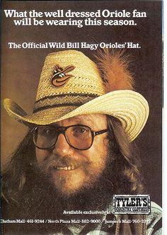 Orioles fan Wild Bill Hagy
