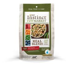 Nature's Variety Instinct Raw Market Grain-Free Freeze Dried Meal Blends for Dogs *** Check this awesome image  : Dog food types
