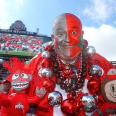 DEDICATED LOYAL OHIO STATE BUCKEYE FAN!