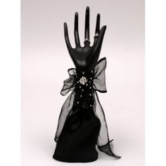 Black Hand Ring Holder