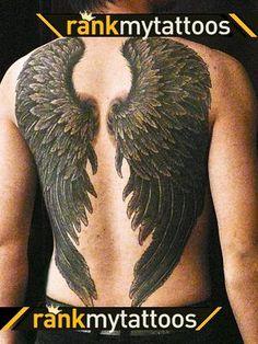 angels wings tattoos | Angel Wings Tattoo Design