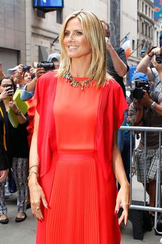 Heidi Klum Steps Out For The First Time Amid Cheating Allegations (Photos)