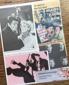 Doctor Jekyll and Mr. Hyde Vintage Horror by diamondcloudstudio
