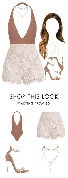 """""""29.04.17"""" by jamilah-rochon ❤ liked on Polyvore featuring Alix, Casadei and Lana"""