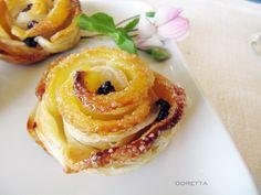 apple puff pastry bites
