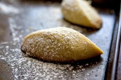 Lavender and Orange Blossom Cookies (Graybeh)