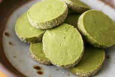 matcha sable cookies via humble bean blog