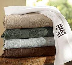 Monogrammed Towels, Monogram Towels & Monogrammed Robes