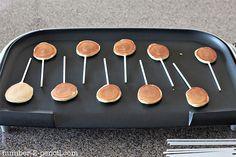 Pancake Lolies!