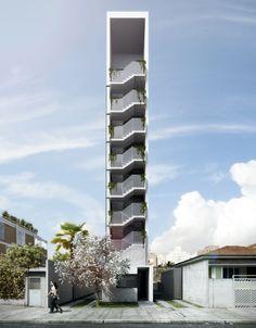 IV department designs super skinny residence for são paulo suburb