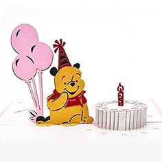 Winnie the Pooh Happy Birthday Birthday Memes, Birthday Board, Happy Birthday, Winnie The Pooh Cake, Winnie The Pooh Friends, Pooh Bear, Tigger, Tweety, Celebrations