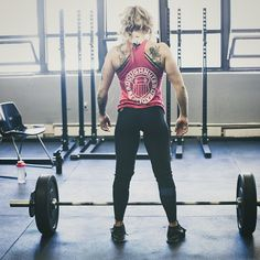 """""""We Stopped Checking For Monsters Under Our Bed When We Realized They Were Inside Of Us..."""" - The Joker #trapsandtattoos #trainlikehell #girlswholift #weightlifting #dndl #pope  @doughnutsanddeadlifts"""