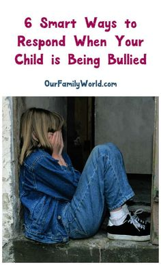 Childhood is hard enough – being bullied should never be tolerated! Check out 6 brilliant parenting tips for how to respond to help build your child back up. Parenting Websites, Parenting Issues, Parenting Articles, Parenting Classes, Parenting Styles, Foster Parenting, Parenting Books, Gentle Parenting, Parenting Teens