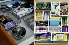 Organize Your Whole House with One Trip to the Dollar Store - Mad in Crafts