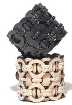Gucci Leather Cuffs