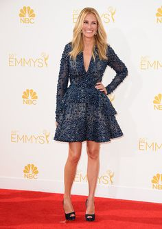 Does Julia Roberts ever look anything but flawless? (The correct answer is no.)  #Emmys2014