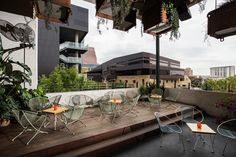 The Malverde balcony offers skyline views of downtown and looks directly into Austin City Limits Moody Theater. Catered exclusively by La Condesa.