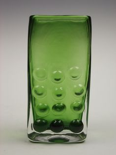 9670 Whitefriars meadow green coloured glass vase by Geoffrey Baxter by art-of-glass, via Flickr