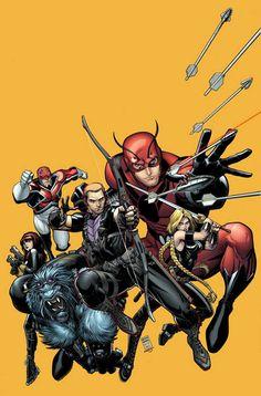 Avengers by Arthur Adams