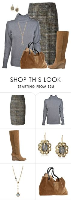 """Untitled #1638"" by amy-devito-haustetter ❤ liked on Polyvore featuring Nineminutes, Lucky Brand and Betsey Johnson"
