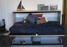 This Murphy DeskBed is ready for sleeping!