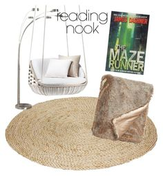 """""""#readingnook"""" by canehdiengirl on Polyvore featuring interior, interiors, interior design, home, home decor, interior decorating, Artiva, Nook and Nordstrom"""