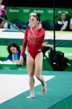 2016 - Women's all-around final at the 2016 Olympic Games at Rio Olympic Stadium in Rio de Janeiro, Brazil. Gymnastics Facts, Gymnastics Images, Gymnastics Posters, Artistic Gymnastics, Olympic Gymnastics, Gymnastics Girls, Gymnastics Problems, Tumbling Gymnastics, Acrobatic Gymnastics