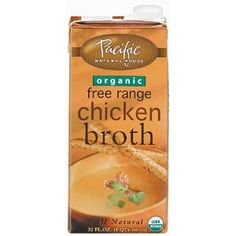 Pacific Foods Natural Free Range Chicken Broth