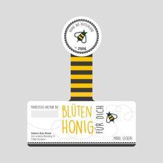 Honey Packaging, Fruit Packaging, Food Packaging Design, Packaging Design Inspiration, Typo Logo Design, Honey Bottles, Honey Logo, Honey Label, Honey Brand