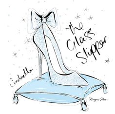 2015.03.18 What would your dream Cinderella GLASS SLIPPER look like? Mine would be covered in tiny diamonds and have the perfect bow at the top!....