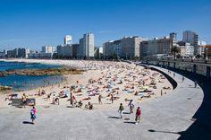 La Coruña, Playa de Riazor