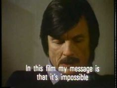 "Tarkovsky on Art: ""The artist exists because the world is not perfect...Art is born out of an ill-designed world."""