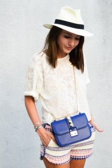 Blue handbag Lovely Pepa