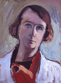 Gabriele Münter, Self portrait, 1935