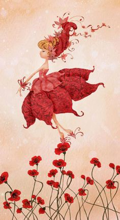 Rebecca Dautremer (I believe). She doesn't have any wings, but she MUST be a fairy. Magical Creatures, Fantasy Creatures, Fairy Pictures, Flower Fairies, Fairy Art, Whimsical Art, Cute Illustration, Faeries, Cute Art