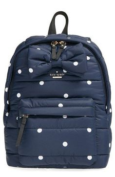 What a pretty backpack! kate spade new york 'colby court - reid' backpack available at Kate Spade Backpack, Kate Spade Wallet, Backpack Bags, Rucksack Bag, Cute Backpacks, Stylish Backpacks, Kate Spade Handbags, My Bags, Fashion Bags