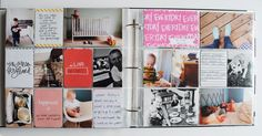Pages created by Brooke Petermann featuring the Sunshine Edition, Midnight Edition, and Happy Edition
