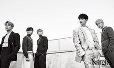 BTS - Singles Magazine January '17