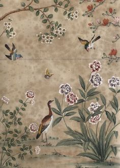 中國風的牆紙。