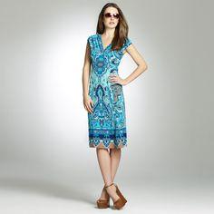 Jones New York: Dresses  Daytime Dresses  Printed 40 Dress