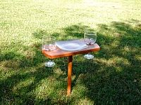 Picnic Stake Trays  good for tailgating, outdoor concerts, camping, and the beach - large, medium, and small