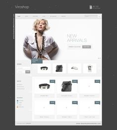 Viroshop - A Modern Responsive WooCommerce Theme is a clean and modern WooCommerce theme that is fully responsive and packed with some awesome features. #website #eCommerce #sale #WordPress #Technology