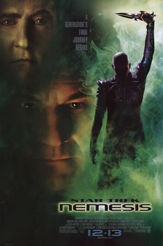 Star Trek: Nemesis (2002) The Enterprise is diverted to the Romulan homeworld Romulus, supposedly because they want to negotiate a peace treaty.