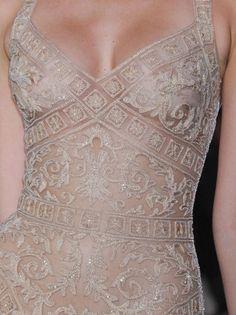 Giambattista Valli Fall 2017 Couture Fashion Show - Zuhair Murad Haute Couture Spring 2013 Details - Style Couture, Couture Details, Fashion Details, Look Fashion, Couture Fashion, Runway Fashion, Fashion Show, Womens Fashion, Fashion Design