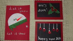 Christmas cards Happy New, Advent Calendar, Christmas Cards, Snow, Holiday Decor, Artist, Handmade, Christmas Greetings Cards, Hand Made