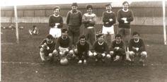 Hendon FC Supporters Team. 1965 in Clitterhouse Park.