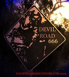 Illinois - Many have know the where about's of Devil Road. Through the years it is the most haunted spot on earth you could ever find. The road to no where it is sometimes so deservingly called, but it does have a final destination. And that is at the fiery eternal unlocked Gates Of Hell!  The great devil of Route 666, The dark lord of hell and his brutal thugs of beast. The lost evil escaping ghost of hell that hide at the cross roads. It's said that only the most evil of souls are le