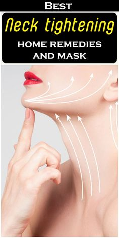 The thin skin of the neck is ignored often. It has not carried subcutis fat. The main cause of necklines and dark spots is constant and continues exposure to sun rays. Tighten Neck Skin, Herbs For Health, Neck Cream, Natural Haircare, Sagging Skin, Tone It Up, Skin Problems, Skin Treatments, Home Remedies