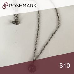 Moon & sun necklace Short chain, dark metal PacSun Jewelry Necklaces